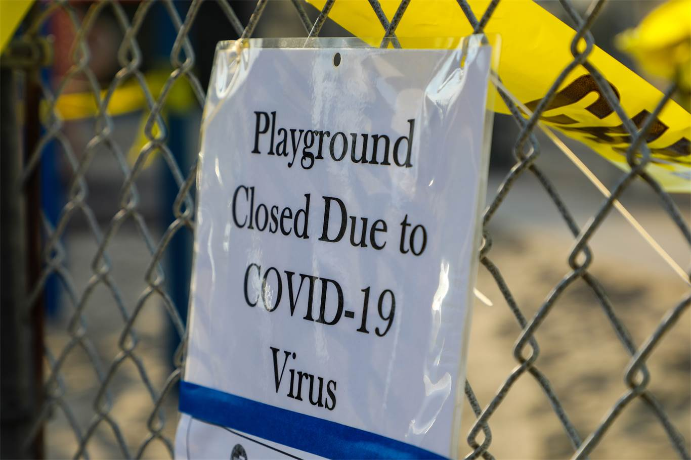 Banner Image for School playgrounds and sports fields are CLOSED
